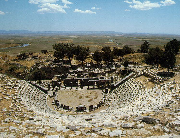Античный город Приен: фото, описание