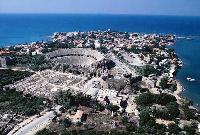 Сиде, курорт Турции (Side, Сидэ)