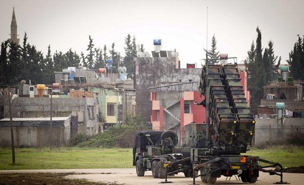 НАТО завершило развёртывание Patriot в Турции