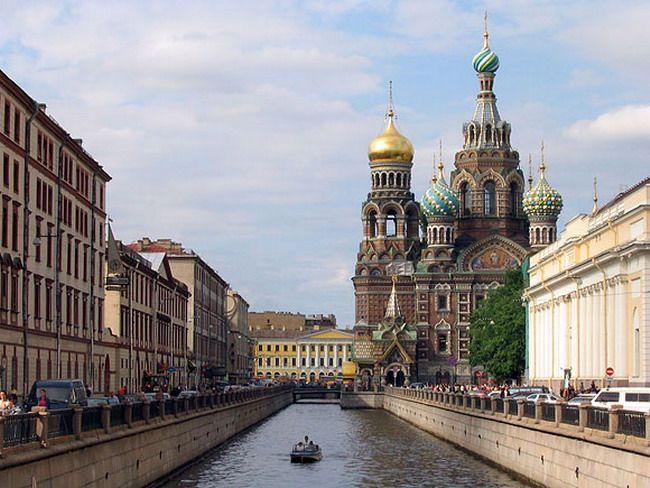 Санкт-Петербург — российский город