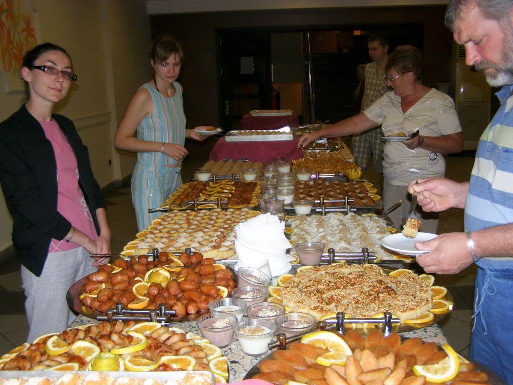 Современная турецкая кухня славится