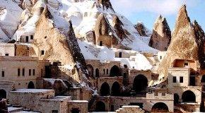 Вулканические ландшафты Каппадокии