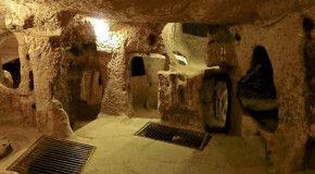 Путешествуйте по подземным городам Турции