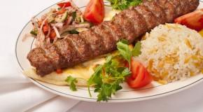Турецкое блюдо Урфа-Кебаб