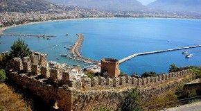 Алания – красивейший город на территории Турции