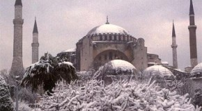 Турция летом и зимой