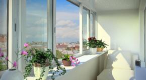 Несколько вариантов защиты балкона от непогоды