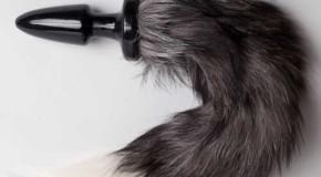 Анальная пробка с хвостом в Sex-shop