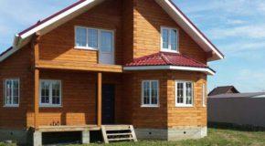 Двухэтажный дом из бруса: современный вариант жилья